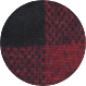Black / Plaid black and red