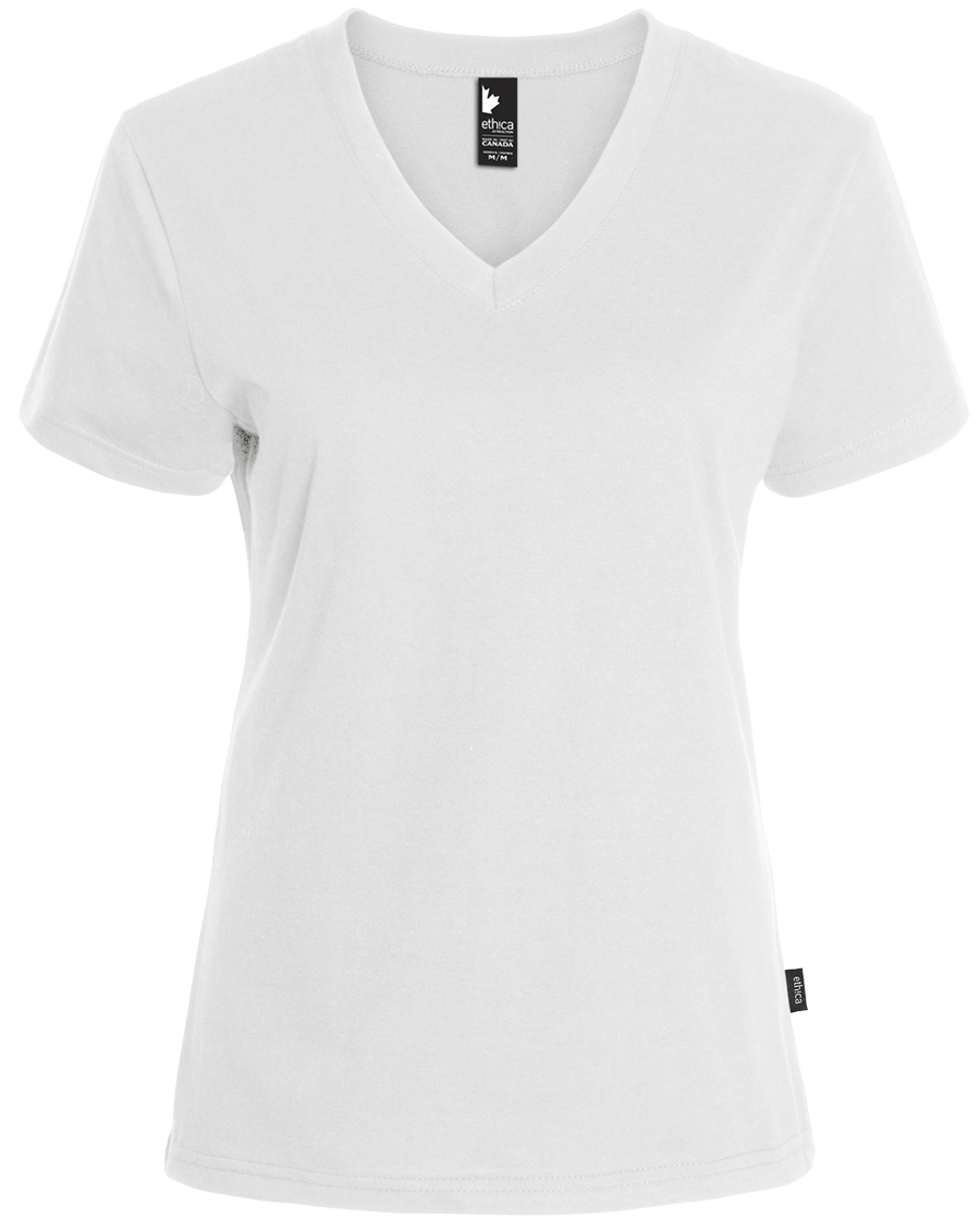 100L29W - V-neck t-shirt - women